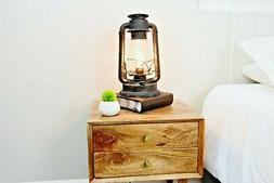"""15"""" Tall Dimmable Electric Lantern table Lamp With E26 Ediso"""