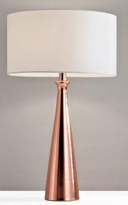 "Adesso 1517-20 Linda 21.5"" Table Lamp, Copper, Smart Outlet"