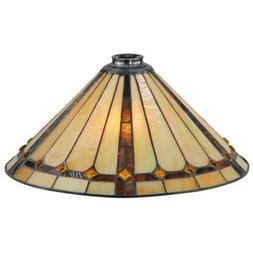 "Meyda Lighting 16""W Belvidere Replacement Shade - 137779"