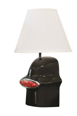 1949 Hot Rod Classic Car Tail Light Table Lamp Black 49L Whe