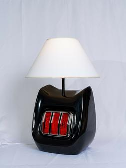 1966 Classic Muscle Car Tail Light Table Lamp Black 66LFBLK