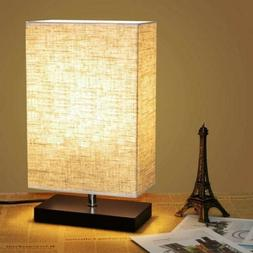 2 Energy Saving Bedside Table Desk Lamp Nightstand Light For