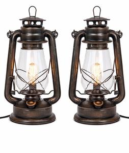 Oil Lantern Table lamp set By Muskoka Lifestyle Products-USA