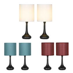 2 sets bedside lamp table light 3