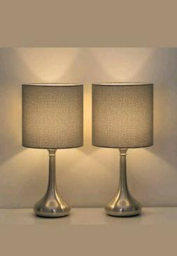 2 Sets/PCS HAITRAL Table Lamp Modern Desk Bedside Lights Fab