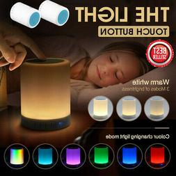 2020 Speaker Night Light Dimmable Table Lamp Smart Touch Con