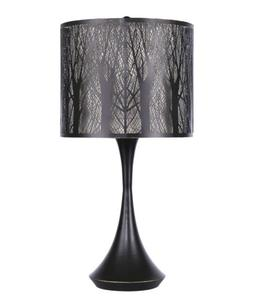 "24.5"" Oil Rubbed Bronze Accent Table Lamp w/ Metal Forrest D"