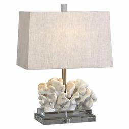Uttermost 27176-1 Coral Sculpture Table Lamp