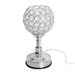 """3 Stage Touch Dimmer Wine Glass Shape Table Lamp 9x4.5"""""""