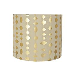 "Aspen Creative 31097 Construction Lamp Shade, 12"" x 12"" x 10"