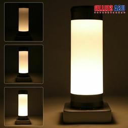 3Modes Touch Table Lamp Desk Bedside Night Light Bedroom Nig