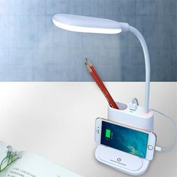 4 in 1 Multifunction LED Desk Table Light Lamp USB Charger F