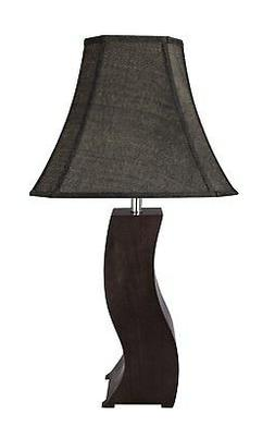 "Aspen Creative 40130, 32 1/2"" High Wood & Metal Table Lamp,"