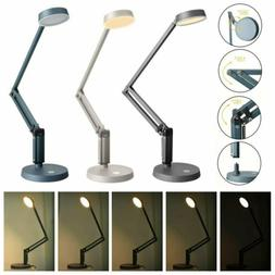 5W Dimmable Touch Sensor Flexible 10 LED Desk Table Lamp Bed