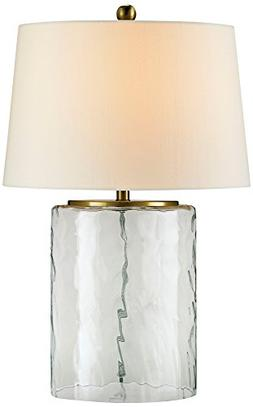 Currey Company 6197 Table Lamp with Off White Shantung Shade