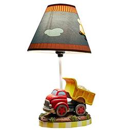 Fantasy Fields - Transportation Thematic Kids Table Lamp   I
