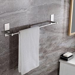Kes Bathroom Lavatory 3M Self Adhesive Single Towel Bar 24-I