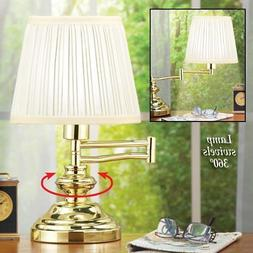 💗 Adjustable 360 Degree Swing Away Traditional Table Lamp