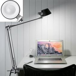 Adjustable Architect Swing Arm LED Desk Lamp Clamp-on Table