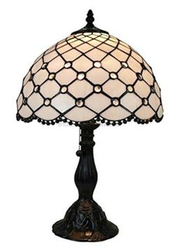 Amora Lighting AM120TL12 Tiffany Style Jewel Table Lamp, 19""
