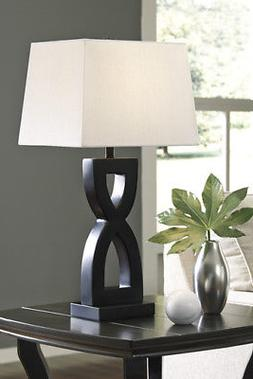 Amasai Black Poly Table Lamp L243144 Amasai Black Poly Table