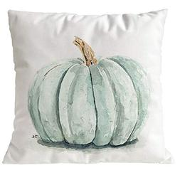 OCASHI Autumn Fall Pillow Case,45cmX45cm Square Pumpkin Patt