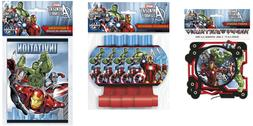 Avengers Marvels Avengers Birthday Party Supplies FREE SHIPP