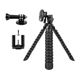 Tairoad 12 Inch Bendable Flexible Tripod with Free Smartphon