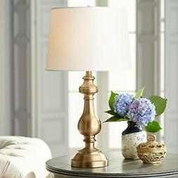 Brass Candlestick Table Lamp