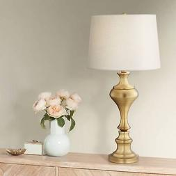Brushed Brass Vase Table Lamp by Regency Hill