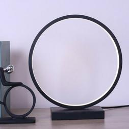 Circle LED Table Lamp Desk Lamp with Contemporary Design Mod