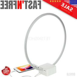 Circle LED USB Table and Desk Lamp Brightech 12 Watts White