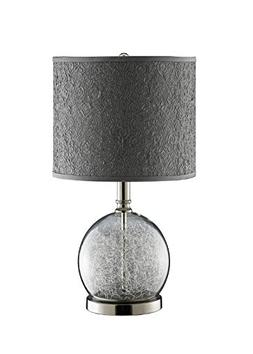 Stein World 947328 Watt Clear Glass Accent Lamp Room With Wi