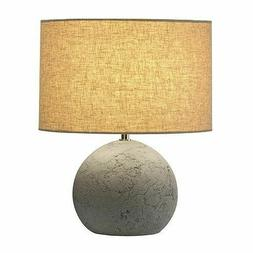 Concrete Table Lamp - Mid Century Modern Influence - By SLV