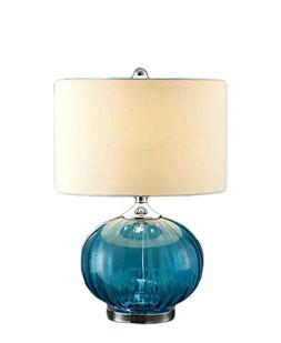 Crestview Collection Crystal and Metal Beach Table Lamp