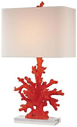 "Dimond Lighting D2493-LED Coral Table Lamp, 16"" x 16"" x 28"","