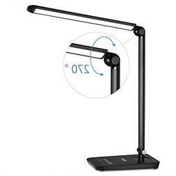 LEDGLE LED Desk Lamp Dimmable LED Table Lamp, 4 Lighting Mod