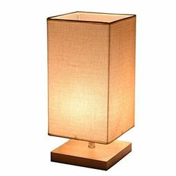 Desk Lamp, Surpars House Minimalist Solid Wood Table Lamp Be