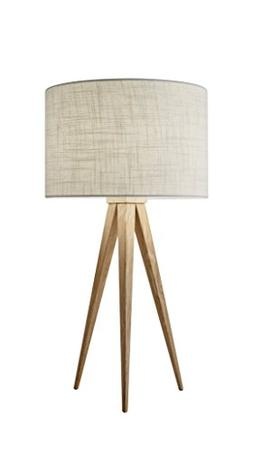 "Adesso 6423-12 Director Table Lamp, 26.25"", Natural"