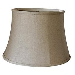 Tootoo Star Brown Large Drum Lamp Shade for Chandeliers Floo