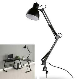 Flexible Table LED Lamp Swing Arm Mount Clamp Home Office St