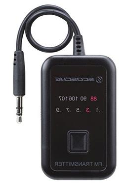 Scosche FMT4R FM Transmitter with 20 Frequency Selections