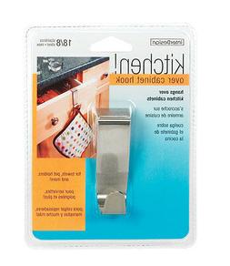 Interdesign Over The Cabinet Hook Cabinet Stainless Steel 2-