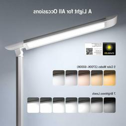 TaoTronics LED Desk Lamp, Eye-caring Table Lamps
