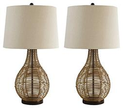 Ashley Furniture Signature Design - Erwin Table Lamps - Ratt