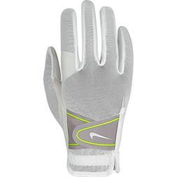 Nike GG0473 107 Women's Summerlite Golf Gloves, Medium, Whit