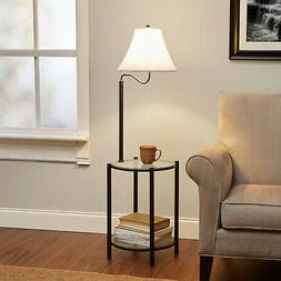 Mainstays Glass Furniture Floor Lamp