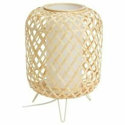 IKEA GOTTORP HANDMADE Table lamp, Bamboo, 9x13  BRAND NEW