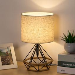 HAITRAL Bedside Table Lamps Minimalist Nightstand Lamps Mode