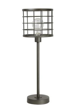 industrial cage accent table lamp